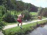 Lucas au pont ( été 2007 )