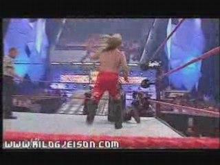 Chris Jericho vs Kevin Nash (Hair vs Hair)