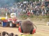 Tracteur pulling sens de bretagne 2008