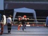 chamse de la team ezbiri en kick boxing