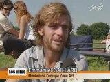 Mons Télévision - 30 07 2008   4è édition de Zone Art à l'école de cirque des Honnelles
