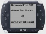 Download Free PSP Games And Movies