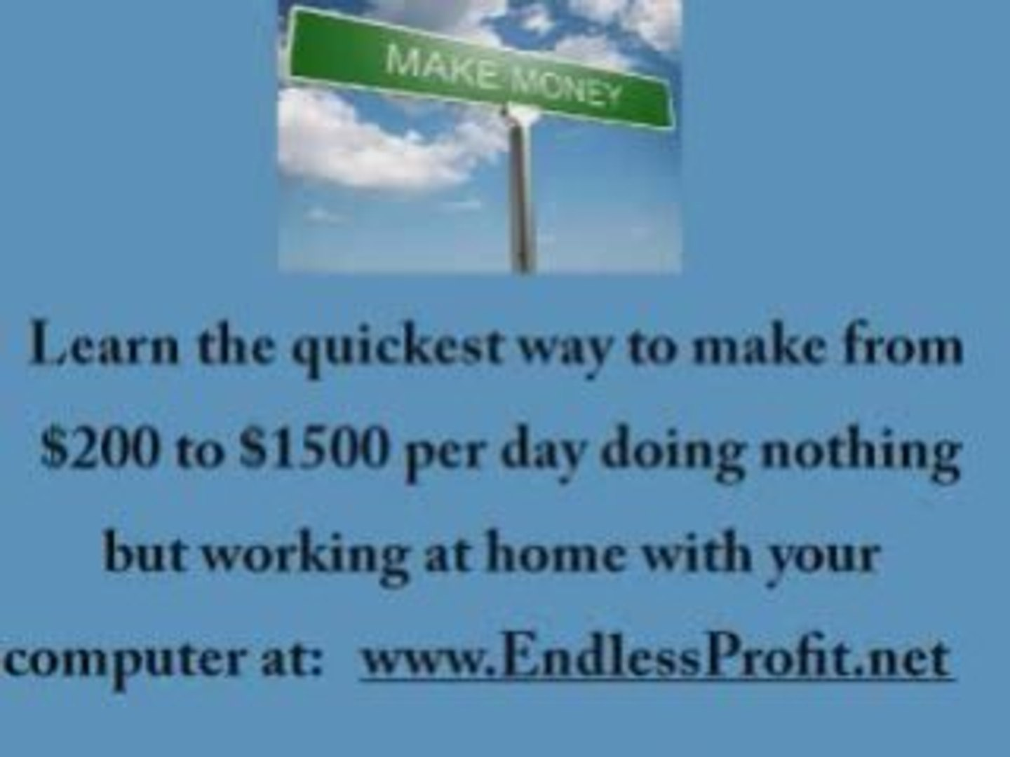 The Quickest Way To Earn 200 To 1500 Per Day From Home