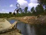 Backflip water jump Bmx Bisca