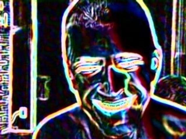 Playing around on webcam