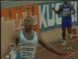 WR 100m - Leroy Burrell (9.85s)
