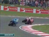 SBK 2008 - BRANDS HATCH RACE 2 HIGHLIGHTS