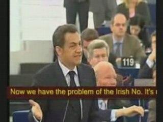 Nigel Farage interpelle Nicolas Sarkozy