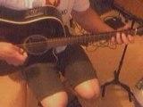Guitare blues accoustique