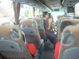 Chanson des inter-comité 2008 au retour dans le bus