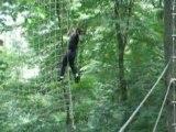 Tibo en galère pour la liane tarzan