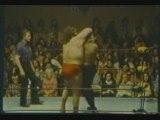 André the Giant vs Big John Studd - Charlotte 1978