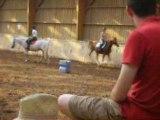Equitation n°5 mise en selle 30 juillet 08