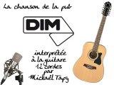 Dim (publicité à la guitare 12 cordes)