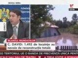Bilanţul inundaţiilor din Maramureş şi Moldova