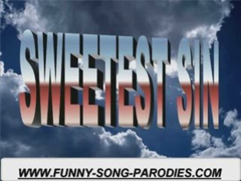 Music video parodies Jessica Simpson Sweetest Sin