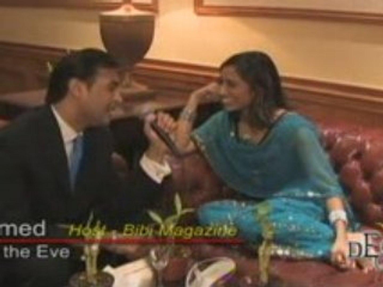 Rasika Mathur Interview - Bibi Magazine party (3 of 3)
