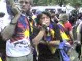 manif RSF Tibet JO - paris 08-08-08 ambassade chine video 3