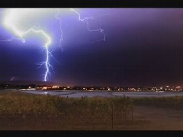 Lightning Storm Santa Maria, California