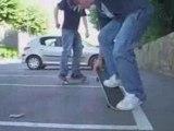 skate entre pots elements