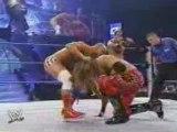 Rey Mysterio & Edge vs Kurt Angle & Chris Benoit 7/11/02 pt1