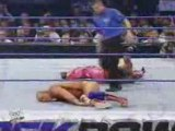 Rey Mysterio & Edge vs Kurt Angle & Chris Benoit 7/11/02 pt3