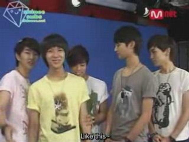 080728 Mnet Pop Magazine SHINee No Cut part 2