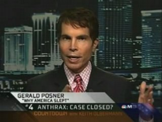 MSNBC: Anthrax Attacks Not The Work Of One Lone Scientist