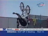 Xgames 97 BMX street Dennis Mc Coy run 2