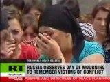 Guerre Ossétie du Sud Géorgie Russie Larmes et douleur