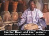 Djembe Drumming Lessons Overview with Master Drummer