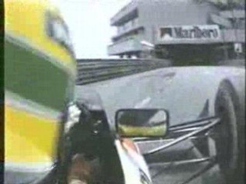 Ayrton Senna Monaco Lap