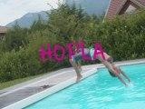 Carla et Estelle - Swimming pool