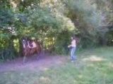 Quetty en longe avec Moi et Laurence (10.08.08)