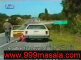 stupid women car accident