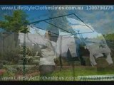 Foldown and Folding Frame Clothesline Cover thats Waterproof