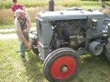 tracteur Renault AFX D1 démarrage a la manivelle