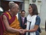 Ségolène Royal et le Dalaï Lama