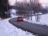 Patrice rouit-philippe gidel rallye neige hautes alpes 2008