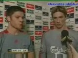 Xabi Alonso and Fernando Torres Interview
