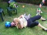 Lucie et Nanou font les folles