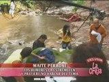 Maite habla de RBD y supuestos suicidios