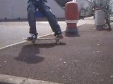 FS 180 to FS fakie Big Spin out