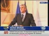 """H.Morin : soldats français tués dans une """"embuscade"""""""