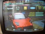 Need for speed Carbon - Mes voitures
