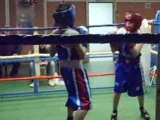 Match de boxe romain Guyard auray boxe