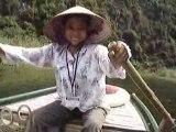 Rowing Boat, Trang An, Ninh Binh, Vietnam