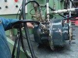 poclain banc essais teste moteur hydraulique poclain
