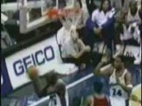 NBA Basketball -  greatest block Michael Jordan