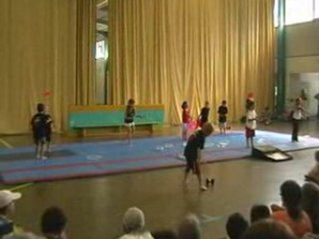 spectacle cirque enfants juillet 2008-1er partie